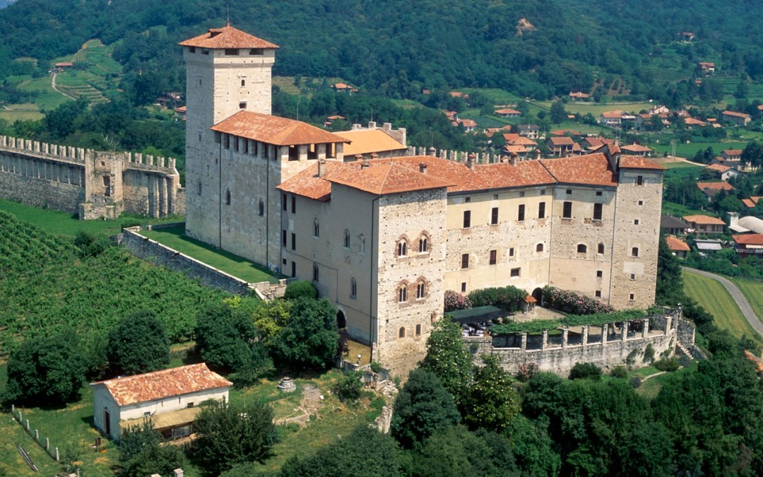 Castles: from the Sforza Castle of Milan to the Borromeo's Castle in Angera