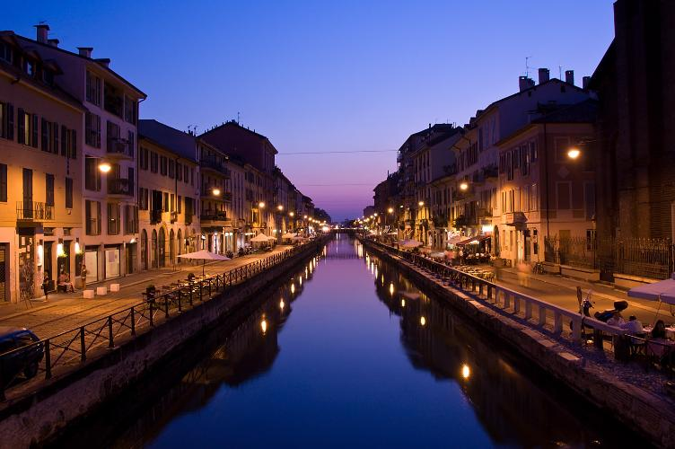 "The ""Navigli"" canals in Milan and the Sacred Mountain of Varese"