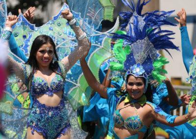 2017 COLOMBIA 0418 Barranquilla Carnavla Via 40