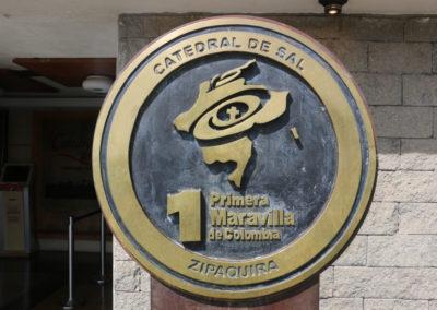 2017 COLOMBIA 1476 Zapaquira Catedral de la Sal
