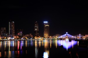 Da Nang city by night