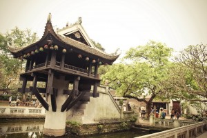 One-Pillar Pagoda - Ha Noi
